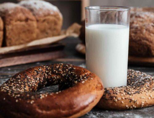 Today's recipe: milk and cookies